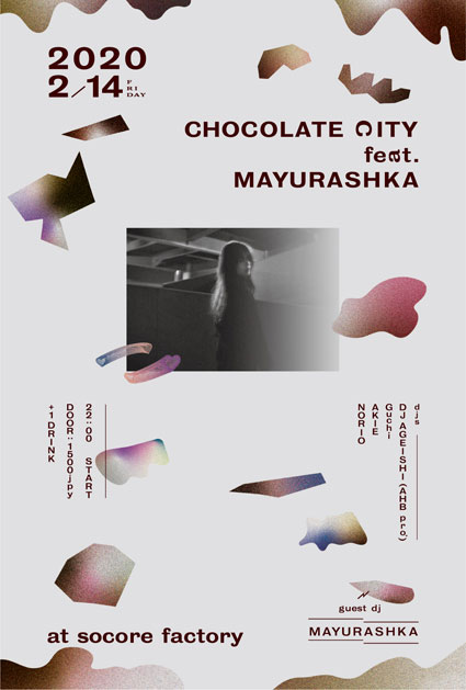 CHOCOLATE CITY feat. MAYURASHKA